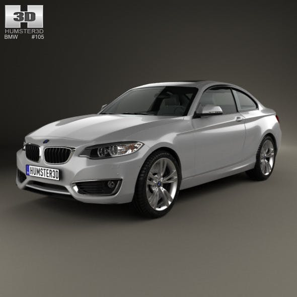 BMW 2 Series coupe (F22) 2014 - 3DOcean Item for Sale