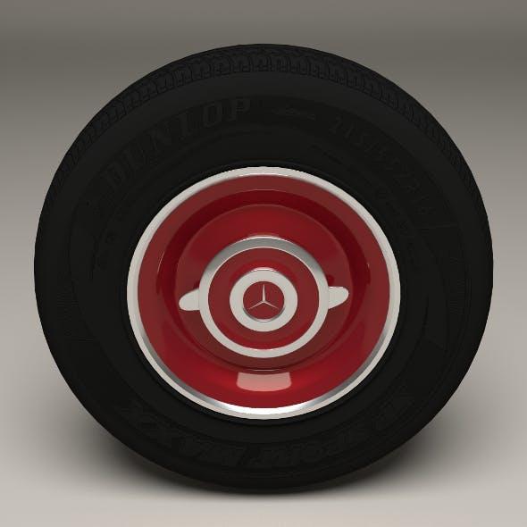 Old Mercedes Wheel - 3DOcean Item for Sale