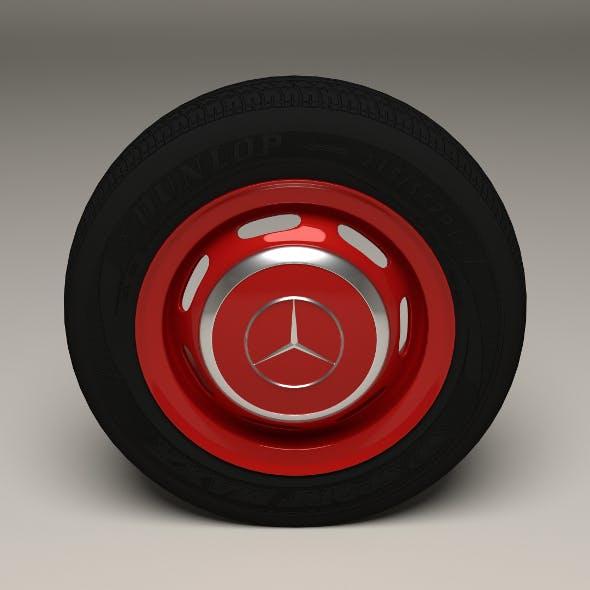 Mercedes 300SL Wheel