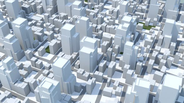 Low Poly City - 3DOcean Item for Sale