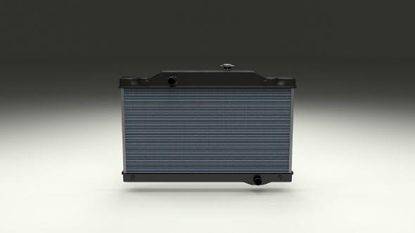 Car Radiator - 3DOcean Item for Sale