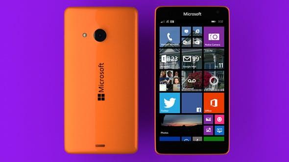 Microsoft Lumia 535 Orange - 3DOcean Item for Sale