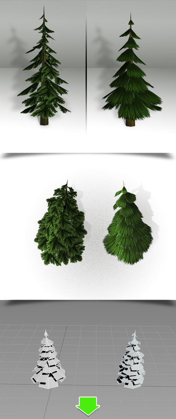 Tree Low Poly   - 3DOcean Item for Sale