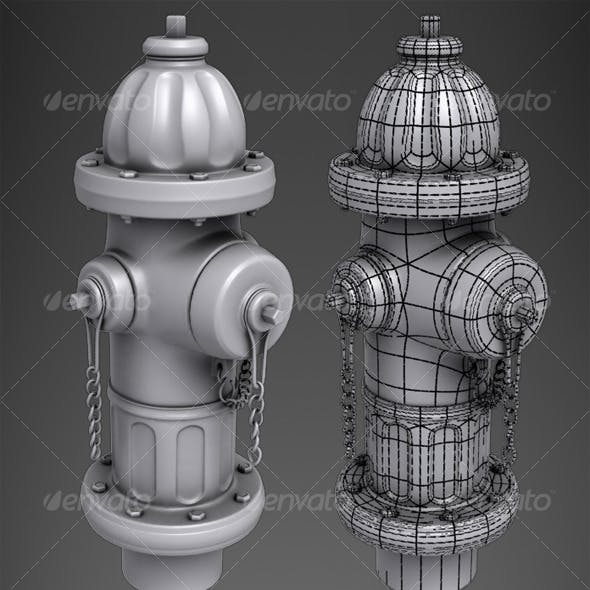 Highpoly Fire Hydrant