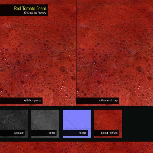 Red Tomato Foam