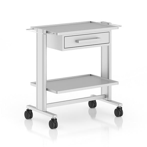 Hospital Table - 3DOcean Item for Sale