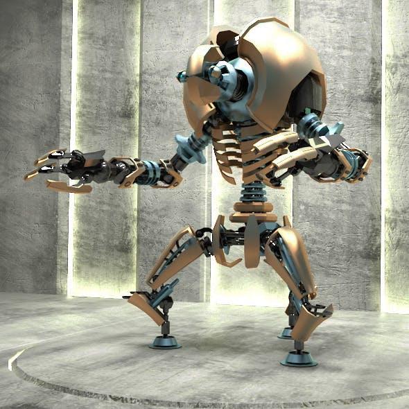 Robot B7X06 - 3DOcean Item for Sale