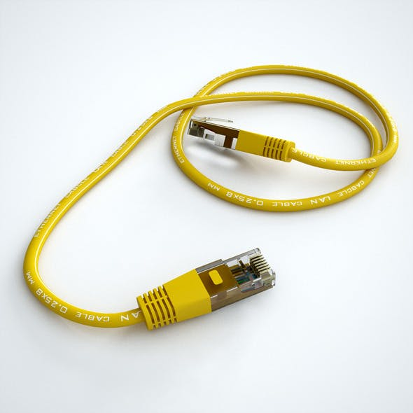 Ethernet Cable - 3DOcean Item for Sale