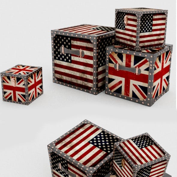 Decorative british box