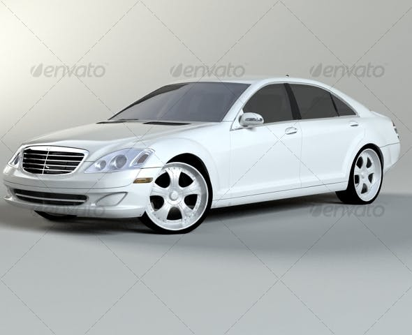 Mercedes Benz S class w221 - 3DOcean Item for Sale