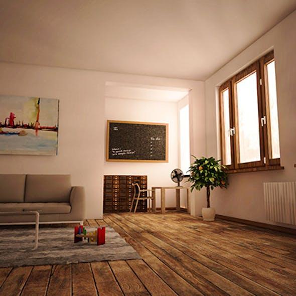 COMPLETE C4D scene + Vray render setup + PSD