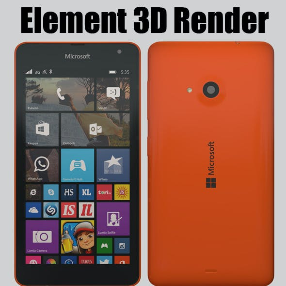 Element 3D - Microsoft Lumia 535