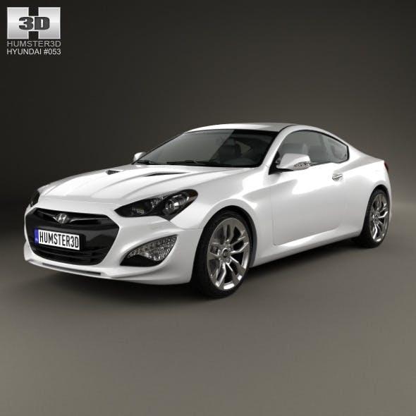 Hyundai Genesis (Rohens) coupe 2012 - 3DOcean Item for Sale