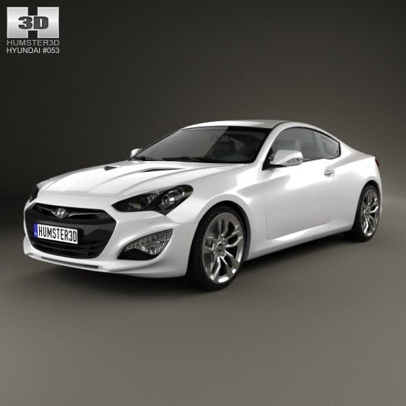 Hyundai Genesis (Rohens) coupe 2012