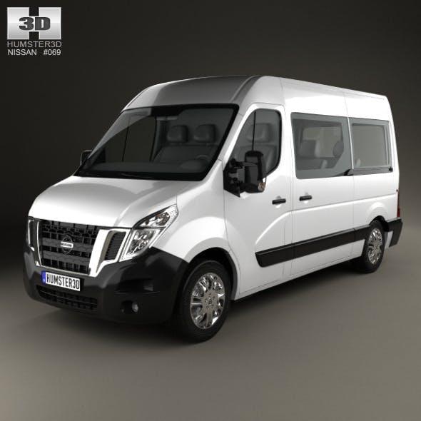 Nissan NV400 Passenger Van 2010 - 3DOcean Item for Sale
