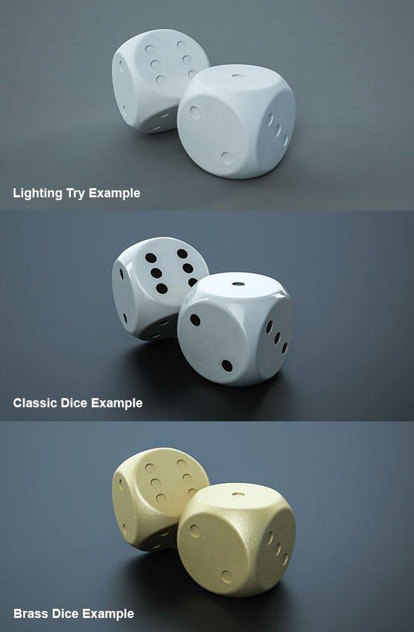 Simple Die - 3DOcean Item for Sale