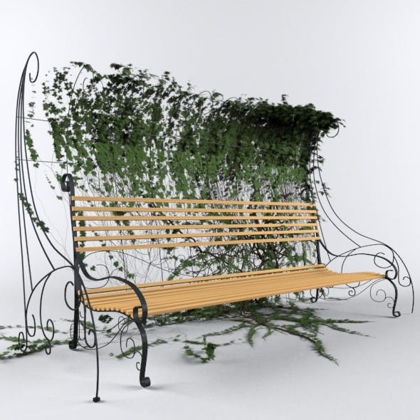 Bench with Hedgegrow