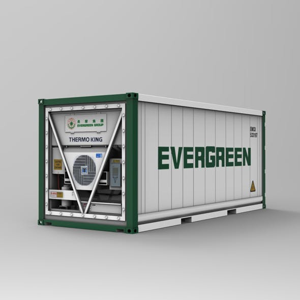 20F Refrigerated Container (Reefer)