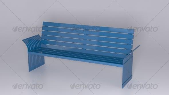 6' Back Bench - 3DOcean Item for Sale