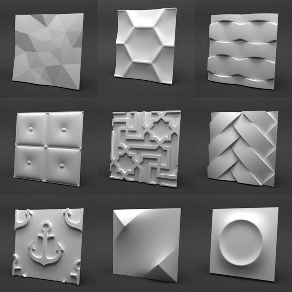 3d Gypsum Panels Collection