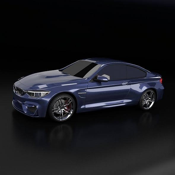 Bmw m4 2014 restyled - 3DOcean Item for Sale