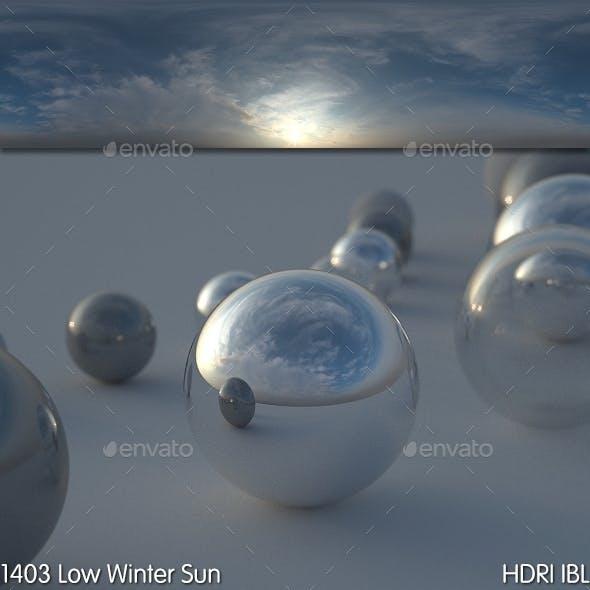 HDRI IBL 1403 Low Winter Sun - 3DOcean Item for Sale