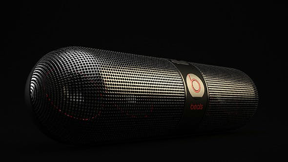 Beats Audio Pill Speakers - 3DOcean Item for Sale