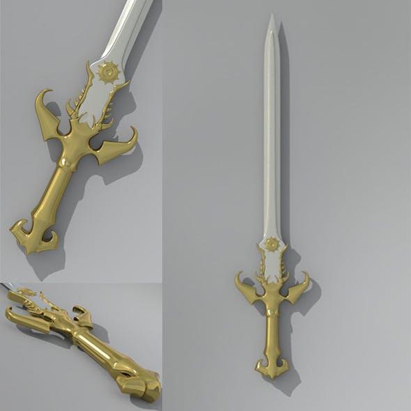 Sword - 3DOcean Item for Sale