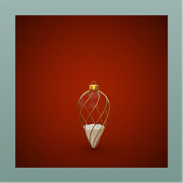 Very High Christmas Ornament - 3DOcean Item for Sale