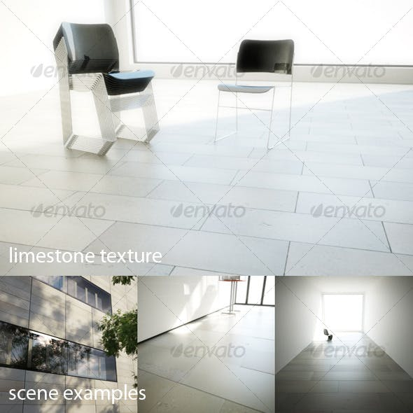 Limestone texture - 3DOcean Item for Sale