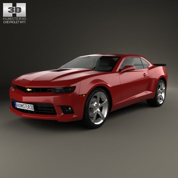 Chevrolet Camaro SS coupe 2014 - 3DOcean Item for Sale