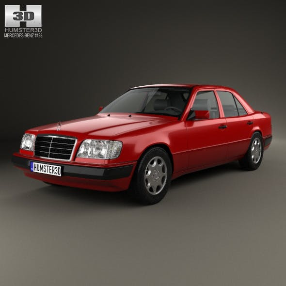 Mercedes-Benz E-class sedan 1993 - 3DOcean Item for Sale