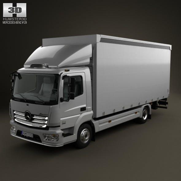 Mercedes Benz Atego Box Truck 2017 Ocean Item For