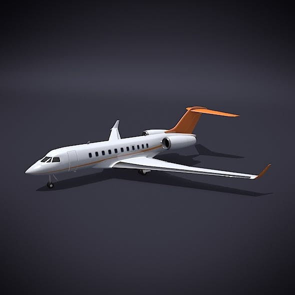 Bombardier 5000 global private jet