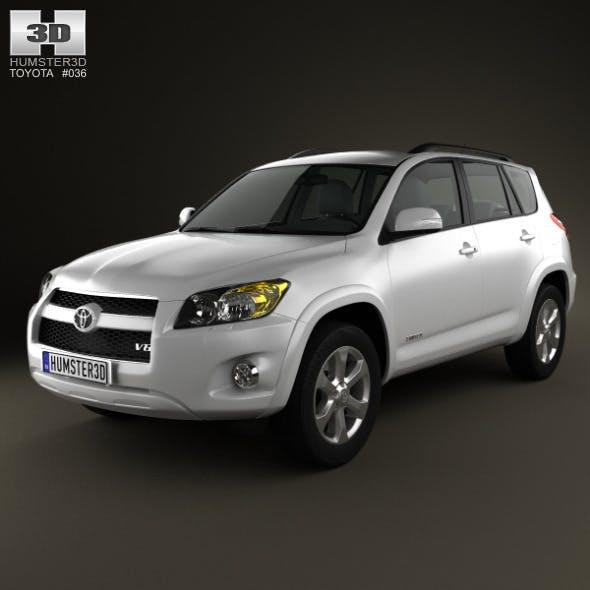 Toyota Rav4 US 2012 - 3DOcean Item for Sale