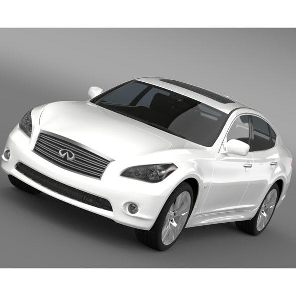 Infiniti Q 70 5.6 Y51 2014 - 3DOcean Item for Sale