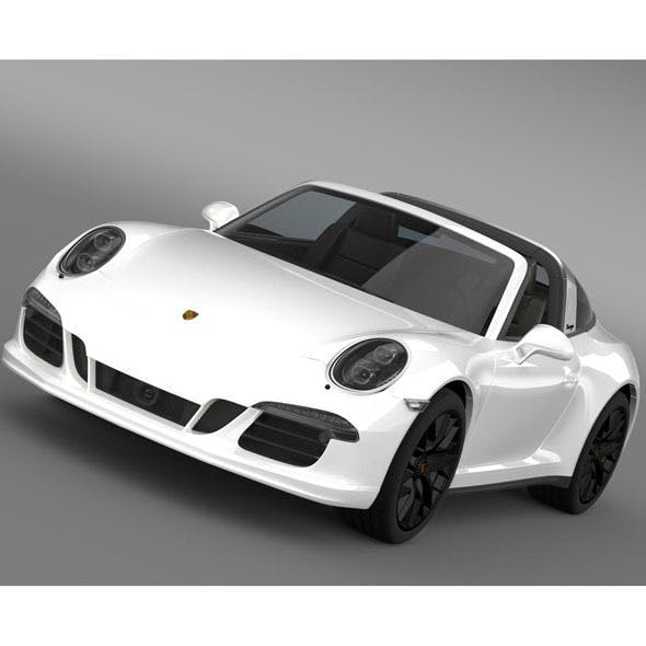 Porsche 911 Targa 4 GTS (991) 2015