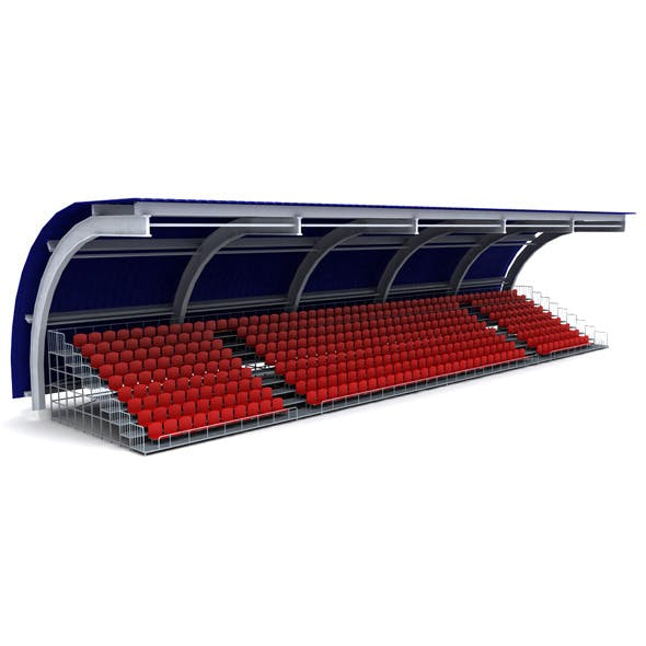 Stadium seating tribune canopy 3