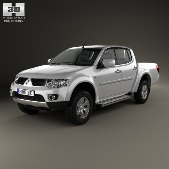 Mitsubishi L200 Triton Double Cab HPE 2012 - 3DOcean Item for Sale