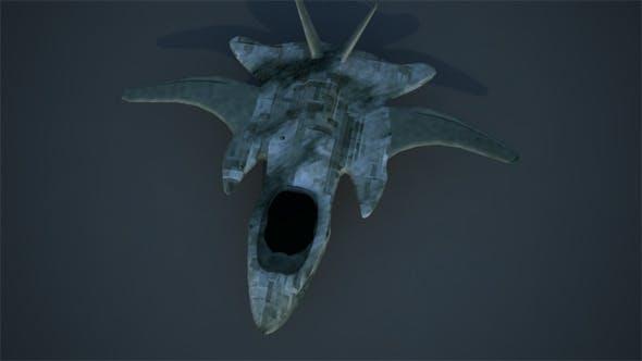 Randoom SpaceShip concept Rigged - 3DOcean Item for Sale