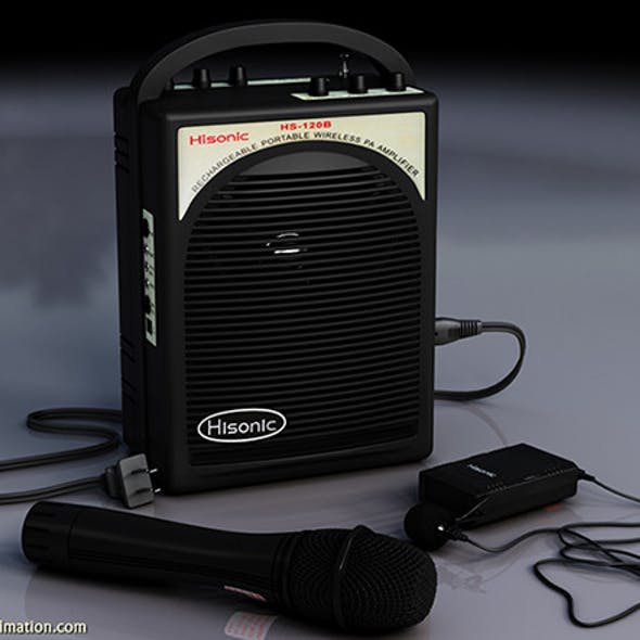3D Wireless Microphone and Speaker System