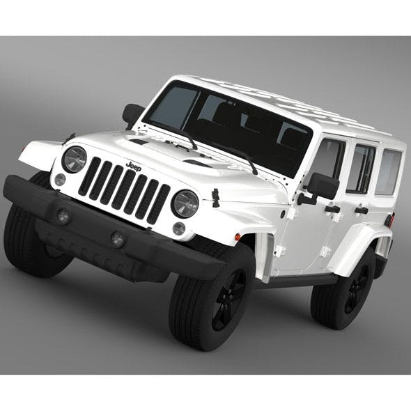 Jeep Wrangler Unlimited X 2015 - 3DOcean Item for Sale