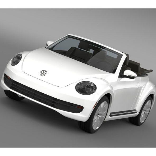 VW Beetle TDI Cabrio 2014