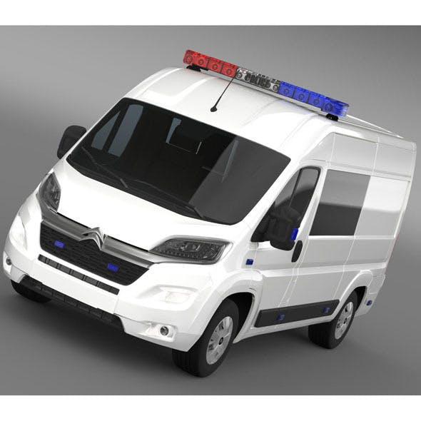 Citroen Relay Police 2015