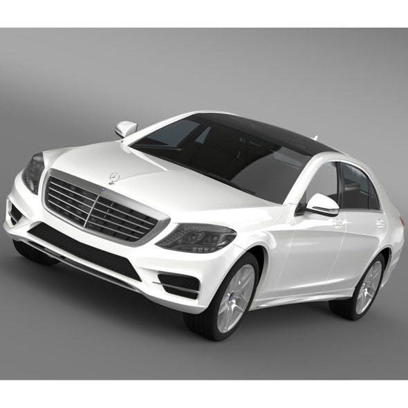 AMG Mercedes Benz S 500 W222 2013