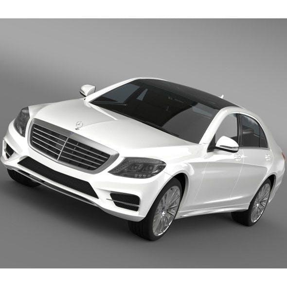 AMG Mercedes Benz S 500 Plug In Hybrid W222 2014