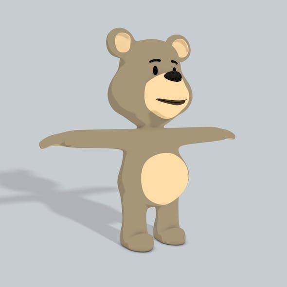 3D Bear UV - 3DOcean Item for Sale