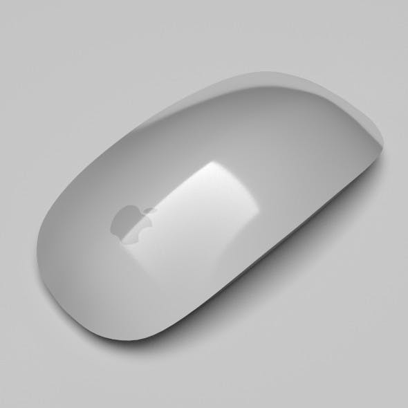 Apple Magic Mouse - 3DOcean Item for Sale