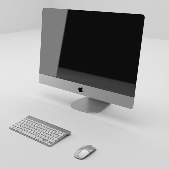 iMac Set - 3DOcean Item for Sale