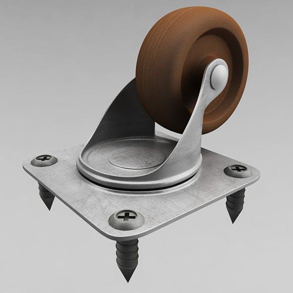 Cabinet wheel